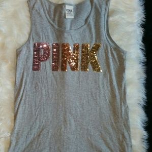 PINK VS TANK TOP